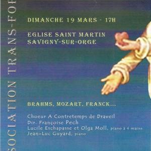 Association Trans-Forme Brahms Mozart