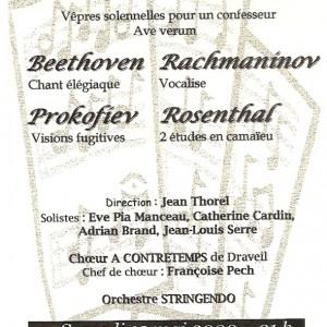 Chant élégiaque 2000