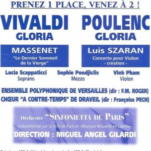Gloria et Vivaldi 1999