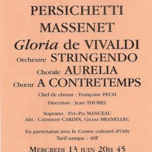 Gloria et Vivaldi 2001