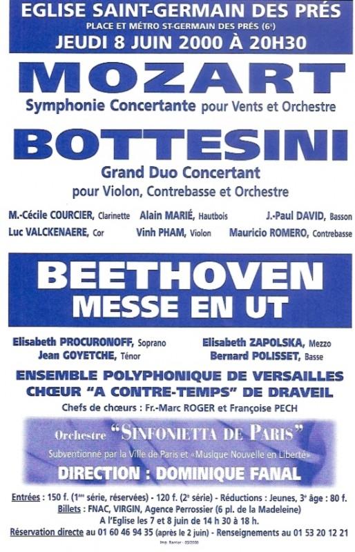Messe en Ut Beethoven 2000
