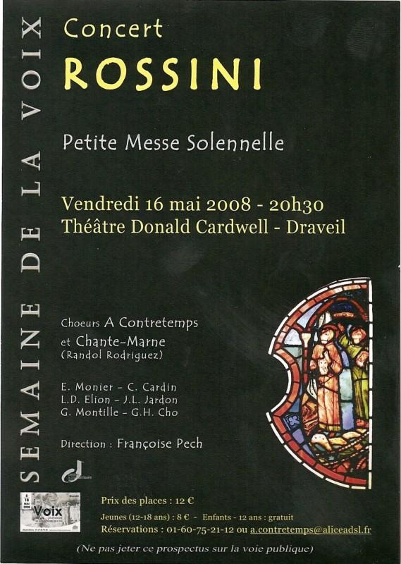 Semaine de la voix Rossini 2008