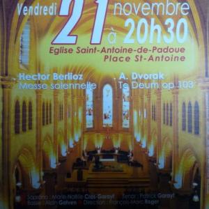 Concert Messe Berlioz